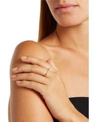 Ileana Makri - Metallic 18-karat Gold Diamond Ring - Lyst