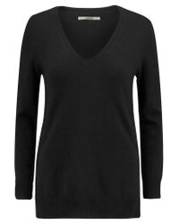J Brand Black Mcarthur Cashmere Sweater