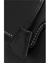 Sandro - Black Alecia Mini Leather Tote - Lyst
