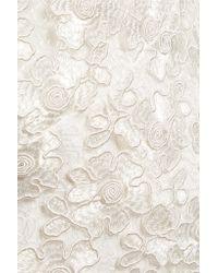 Alexis - White Paulette Corded Lace Playsuit - Lyst
