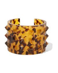 Valentino | Multicolor Printed Acetate Cuff | Lyst