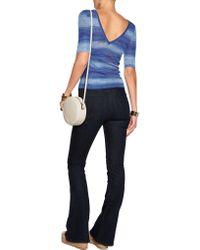Missoni | Blue Stretch-knit Top | Lyst