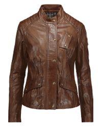 Belstaff   Brown Redgrave Leather Jacket   Lyst
