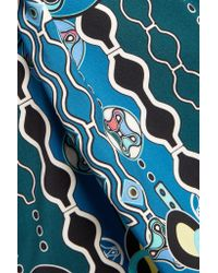 Peter Pilotto - Multicolor Cube Printed Crepe Dress - Lyst