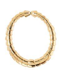 Kenneth Jay Lane | Metallic Gold-tone Necklace | Lyst