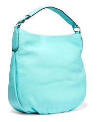 Marc By Marc Jacobs - Blue Hillier Textured-leather Shoulder Bag - Lyst