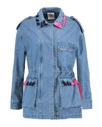 SJYP Blue Moi Et Toi Denim Jacket