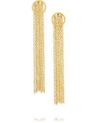 Arme De L'Amour   Metallic Gold-plated Earrings   Lyst