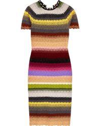 Missoni | Multicolor Crochet-knit Dress | Lyst