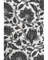 Zimmermann - Gray Washed Silk Top - Lyst