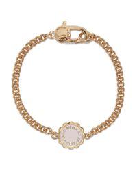 Marc By Marc Jacobs - White Gold-tone Enamel Bracelet - Lyst