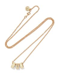 Marc By Marc Jacobs | White Gold-tone Enamel Necklace | Lyst
