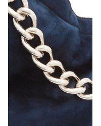 Jil Sander Blue Clutch Bags
