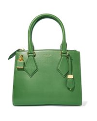 Michael Kors | Green Leather Tote | Lyst