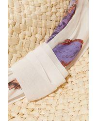 Emilio Pucci - Natural Straw Panama Hat - Lyst