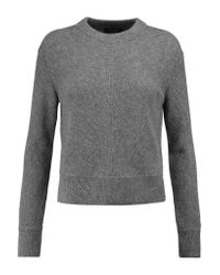 Rag & Bone | Gray Alexis Ribbed Cashmere Sweater | Lyst