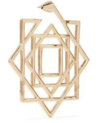 Noir Jewelry | Metallic Gold-tone Earrings | Lyst