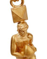 Valentino | Metallic Aquarius Gold-plated Necklace | Lyst