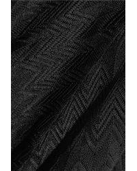 Missoni - Black Crochet-knit Top - Lyst