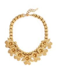 Elizabeth Cole Metallic Leilani Gold-tone Necklace