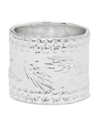 Aurelie Bidermann - Metallic Silver-plated Ring - Lyst