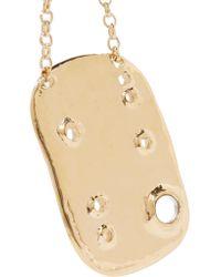 Aurelie Bidermann Metallic Anita Gold-plated Necklace