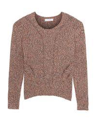 IRO Multicolor Bruna Open-knit Cotton Sweater