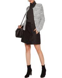 IRO Knitted Jacket Light Gray