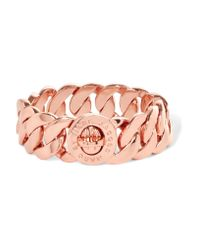 Marc By Marc Jacobs | Pink Katie Rose Gold-tone Chain Bracelet | Lyst