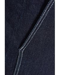 3x1 Blue W3 Denim Mini Skirt