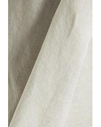 Yummie By Heather Thomson Gray Cotton-broadcloth Pajama Pants