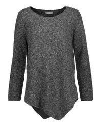 Joie - Gray Tambrel Asymmetric Wool-blend Sweater - Lyst