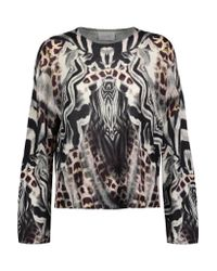 Camilla Multicolor Printed Knitted Sweater