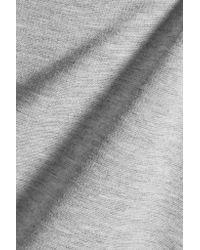 Theory - Gray K Fixture Stretch-jersey Mini Dress - Lyst
