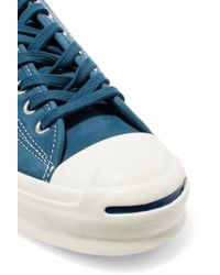 Converse - Blue Jack Purcell Signature Nubuck Sneakers - Lyst