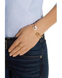 Iam By Ileana Makri | Metallic Enameled Gold-plated Safety Pin Cuff | Lyst