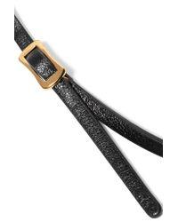 McQ - Multicolor Electro Bunny Textured-leather Wrap Bracelet - Lyst