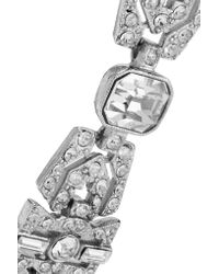 Ben-Amun - Metallic Silver-tone Crystal Bracelet - Lyst