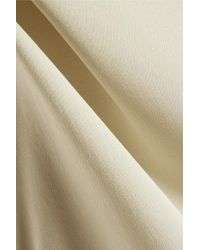By Malene Birger - Green Candillani Washed Stretch-silk Top - Lyst
