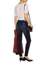 RTA Blue High-rise Skinny Jeans Dark Denim