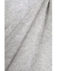 Majestic Filatures Marled Cashmere Sweater Light Gray