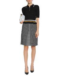 Sonia Rykiel Black Knee Length Skirt