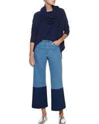 Joie - Blue Melantha Textured-knit Sweater - Lyst