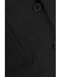 Joseph - Black Button Cuff Twill Coat - Lyst