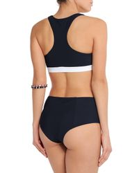 Diane von Furstenberg - Blue Bikini Briefs - Lyst