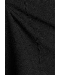 MICHAEL Michael Kors - Black Layered Crepe Top - Lyst