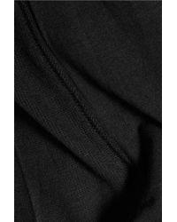 DKNY - Black Urban Essentials Stretch-modal Jersey Pajama Top - Lyst