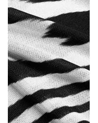 Missoni - Black Crochet-knit Wide-leg Pants - Lyst