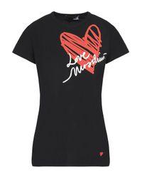 Love Moschino Black Short Sleeved