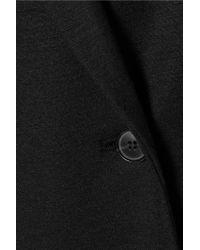 Theory - Black Irma Wool-blend Coat - Lyst